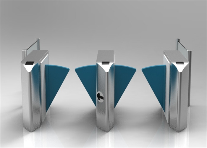 Pedestrian Optical Speed Gates Turnstile Barrier Gate For Airport Checkpoint